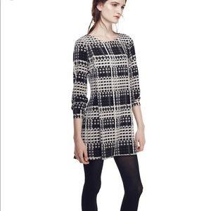 Thakoon Carnaby Street Shift Long Sleeve Dress